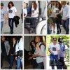 05.09.12 - Kris à l'aéroport de L.A pour aller au Festival du Film International à Torronto.