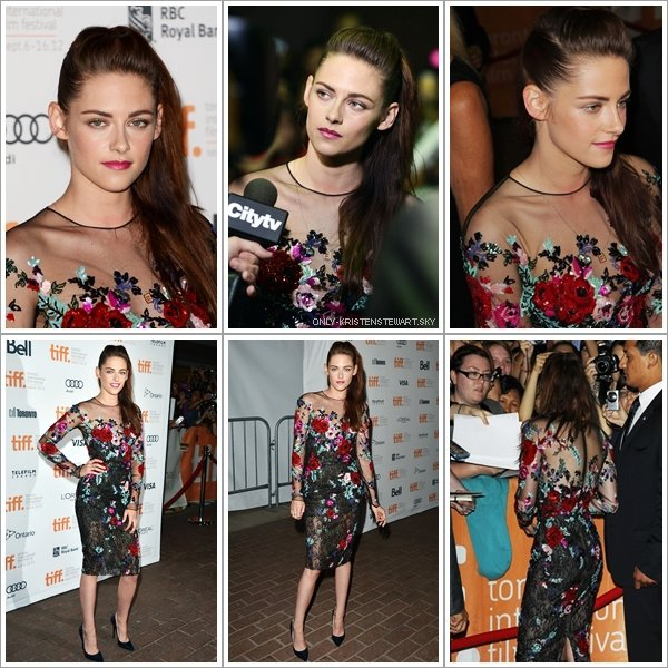 06.09.12 - Kristen était au Festival du Film International à Torronto  pour On the Road. + Bannde Annonce Breaking Dawn (Twilight  : Révélation Chapitre 4 - Partie 2) :