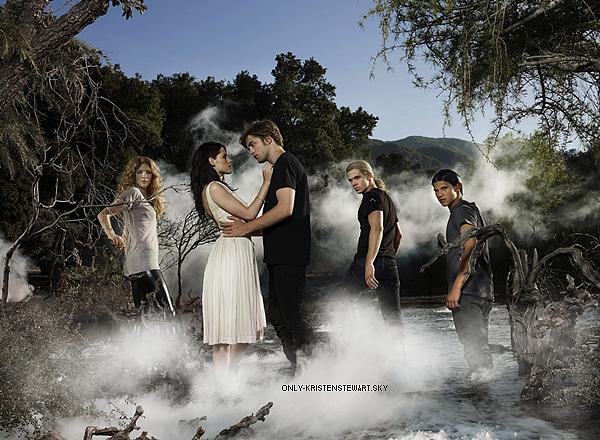 Flashback - Entertainment Weeky 2008 avec Kristen, Rob, Taylor, Rachelle et Cam :