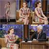 05.11.12 : Kristen était l'invitée de Jay Leno Show à Los Angeles. Elle est merveilleuse !