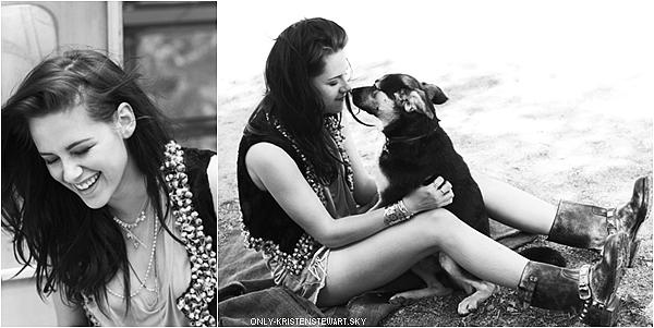 Anciennes photos de Kristen pour le magazine (ELLE France - Mai 2012), un top pour la tenue :