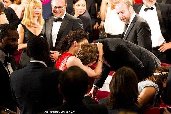 Kristen et Robert à Cannes cette année ? Ils ont aucun films de prévue en compétition, à suivre...