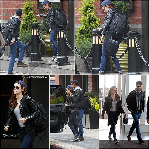 08.05.13 Kristen et Rob ont quittés New York,  plus tard un fan a pris une photo avec Kristen à LA.