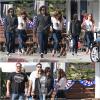 26.05.13 - Kristen a été vue dans les rue de Los Angeles, comme d'habitube avec des amis :