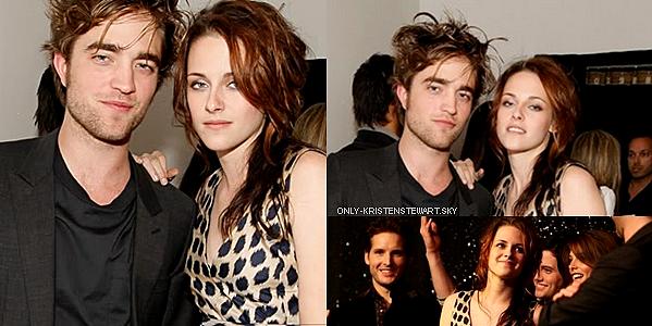 Flashback 2008 - Kristen et le cast de Twilight étaient présents au MTV Spoilers (Twilight) Première :