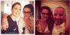 01.07.13 - Kristen a posée avec des fans, une à l'aéroport et une autre dans un restaurant  à Paris.