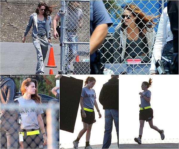 18.07.13 - Le tournage de Camp X-Ray continue pour Kristen, toujours à Los Angeles :
