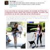 02.08.2013 - Tom Wright le compagnion de Jules Stewart a rencontrer le nouveau chien de Kristen :