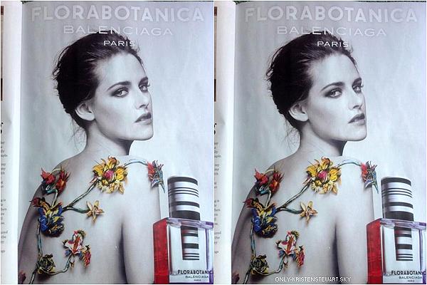 Nouvelle photo de Kristen pour le parfum Balenciaga, dans le magazine InStyle (Anglais) : Kristen est l'égérie du nouveau parfum de la marque Balenciaga depuis 2012, elle est superbe sur cette photo, j'adore !