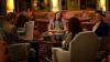 1ère  photo du film Sils Maria  avec Juliette Binoche, Kristen (de dos), Chloe Moretz et Johnny Flynn :
