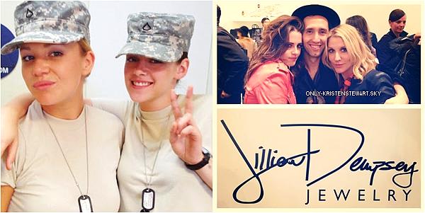 Quelque petites infos du moment sur Camp X-Ray et une apparition de Kristen avec Jillian Dempsey :