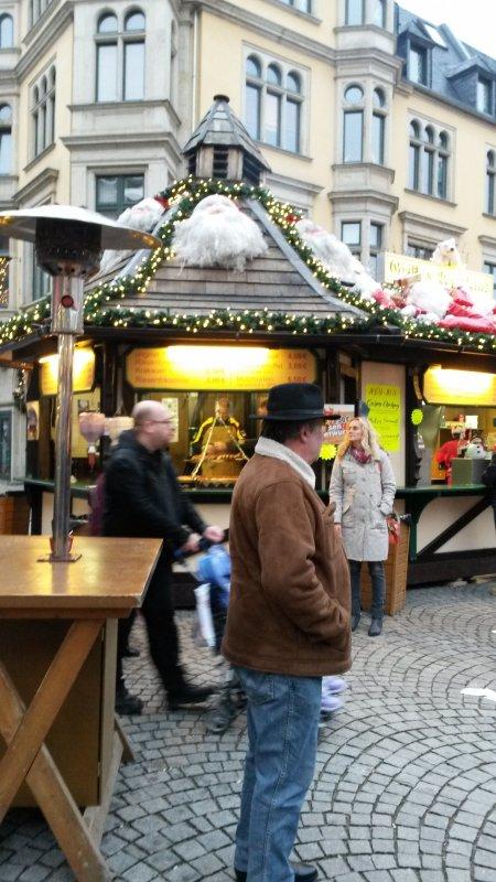 Weihnachtsmarkt in Zwickau (Deutschland) / Marché de Noël à Zwickau en Allemagne