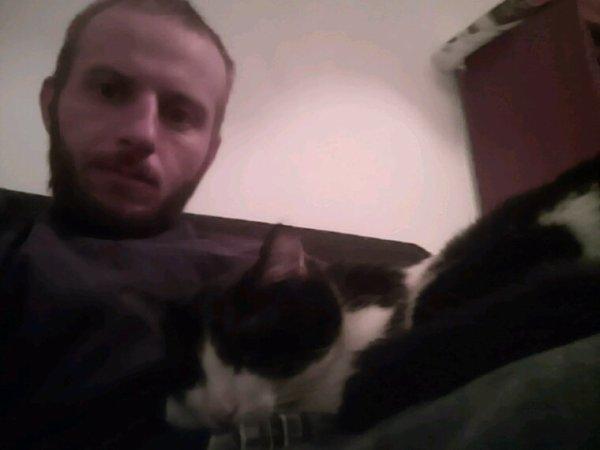 Moi et mon gros chat Jupiter