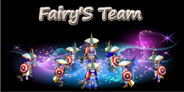 Presentation de la fairy's team !