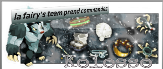 Presentation de la fairy's team !