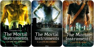 # Library-Of-Dreams.       The Mortal instruments - Première trilogie