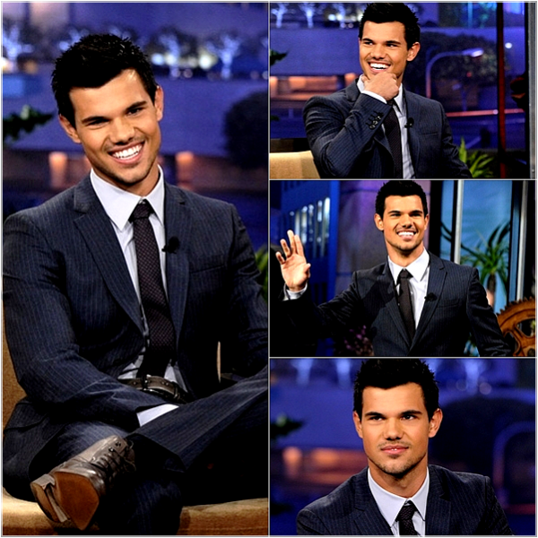 "*   Apparitions 02.11.11 : Taylor sur le plateau du "" Tonight Show "".   *"