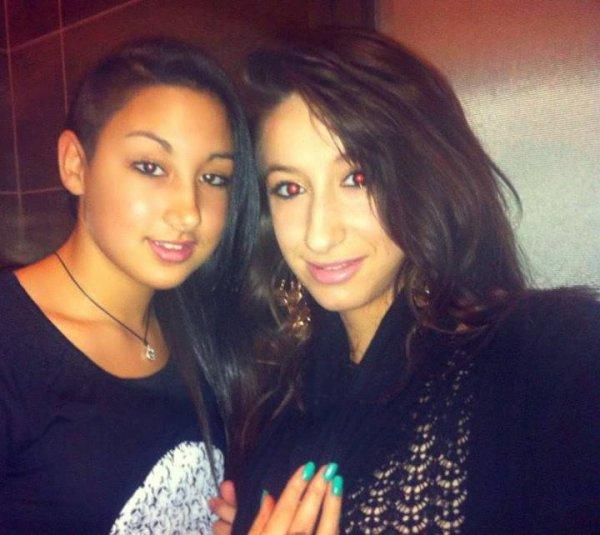 Linda et Assia.