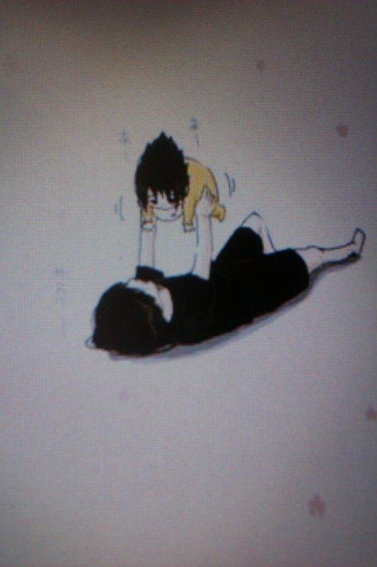 Les moments de sasuke enfant avec son frère itachi