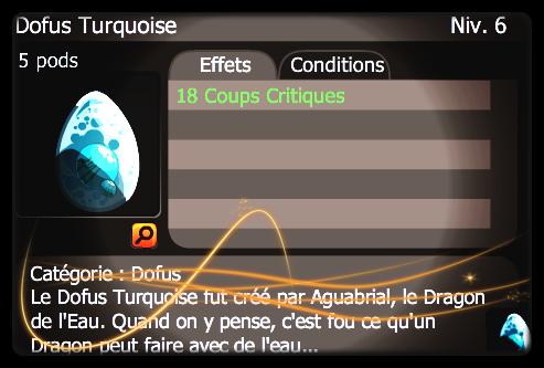 Acquisition du Dofus Turquoise...