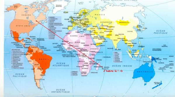 Situer La Réunion Sur Une Carte Du Monde | casamagenta