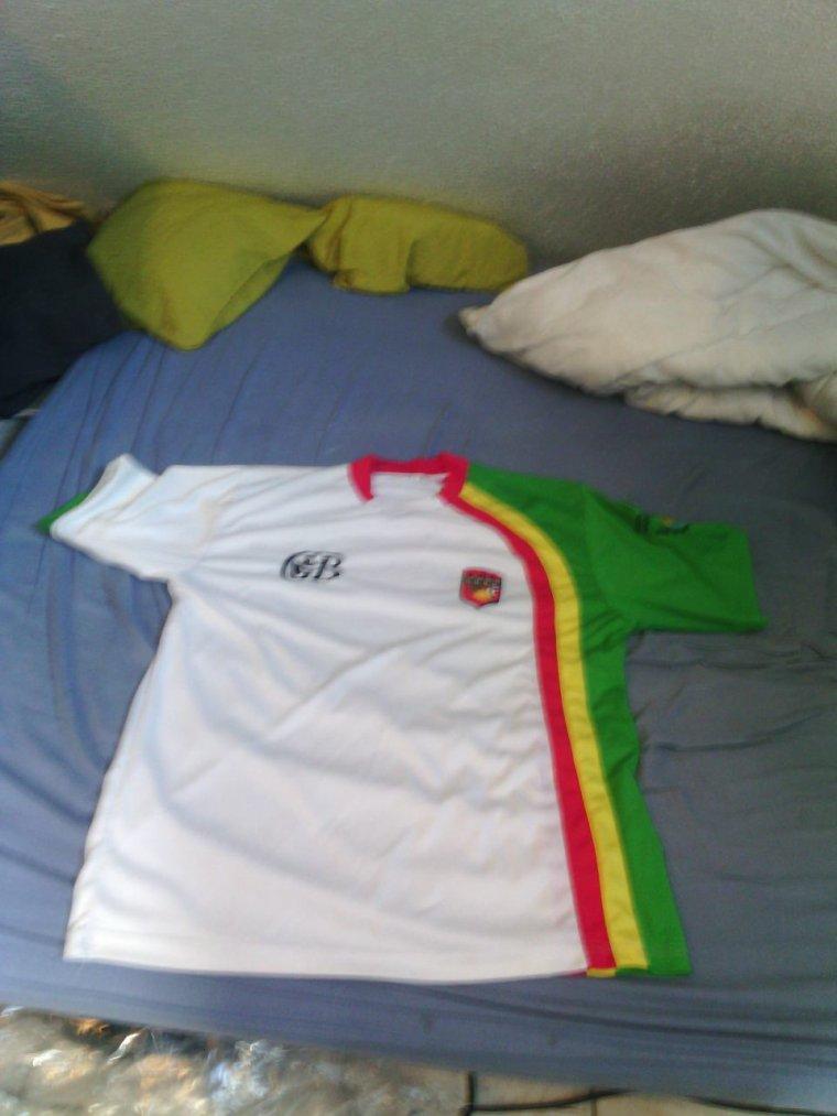 Mon maillot de foot de la Guadeloupe (gwada)