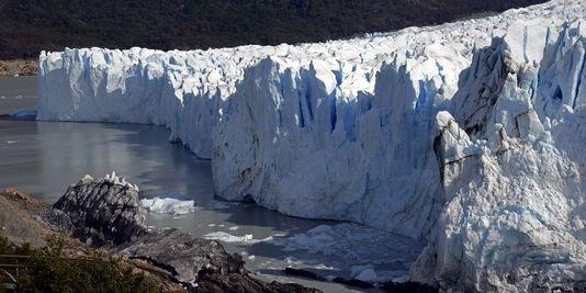 la fonte des glaciers a causse de l'homme depuis 1990