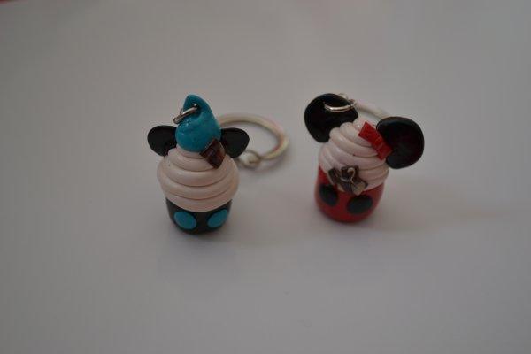Mickey Minnie cup cake