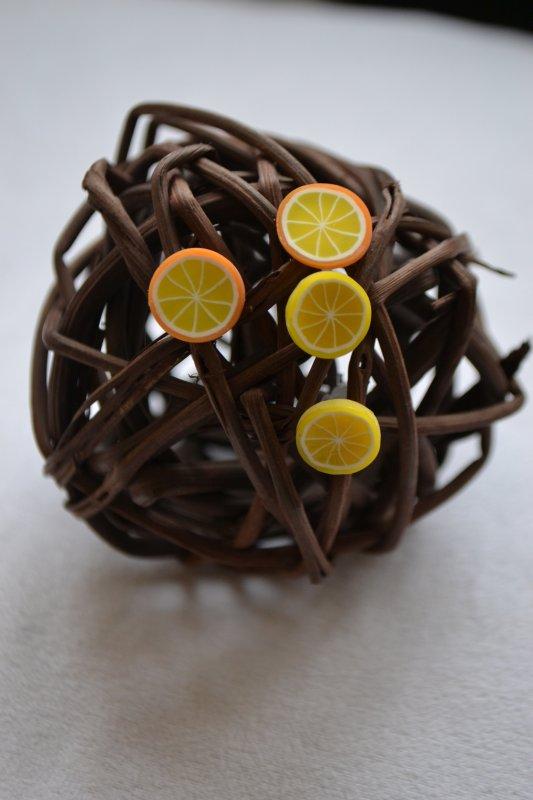 B.O puce orance et citron