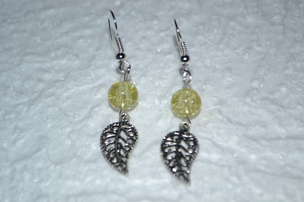 B.O breloques argent ou bronze et perles