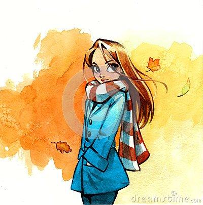Représentation de l'automne !