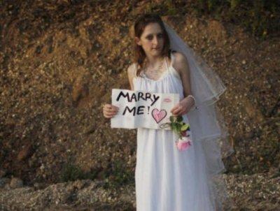Justin Bieber : une fan en robe de mariée à son concert