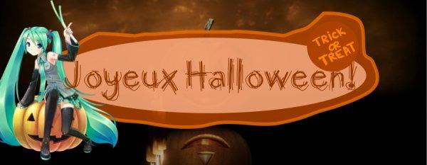 Joyeux Halloween, mes petits monstres!