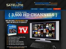 Watch Satellite TV on Your Computer