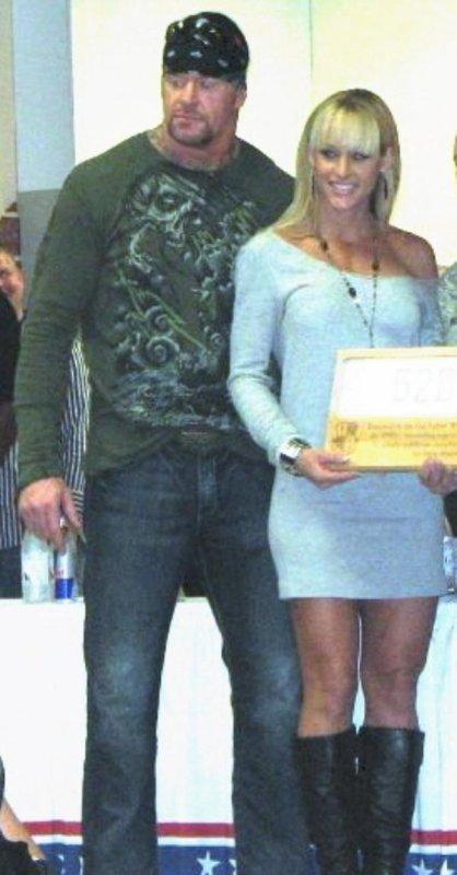 Mark Calaway et Michelle McCool