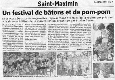 FESTIVAL DE SAINT MAXIMIN