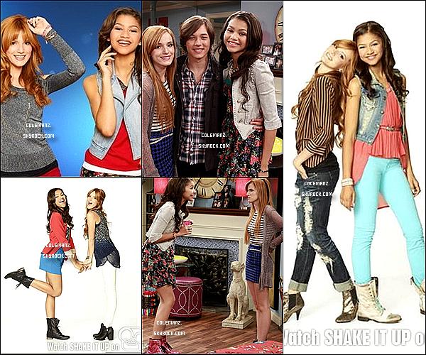. 5 nouvelles photos de Shake it Up saison 3 viennent d'apparaitre,tu aimes? .