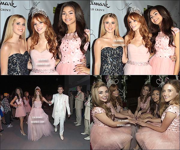 .  20 octobre ; Zendaya était à la quinceanera de Bella Thorne,sa meilleure amie. .