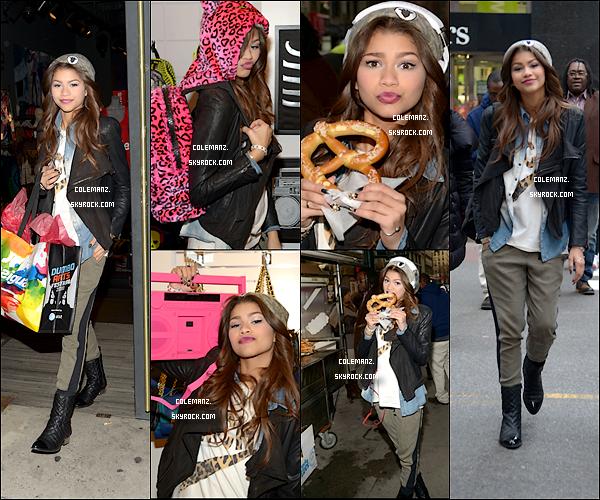 . 20 Décembre : Zendaya dans les rues de New York. .