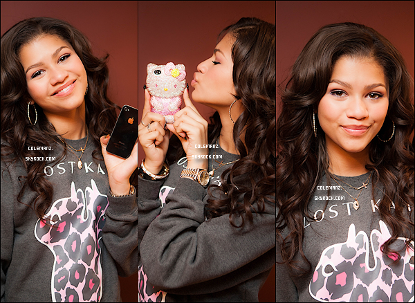 . Zendaya lors d'un Photoshoot réalisé par Matthew Jordan Smith .