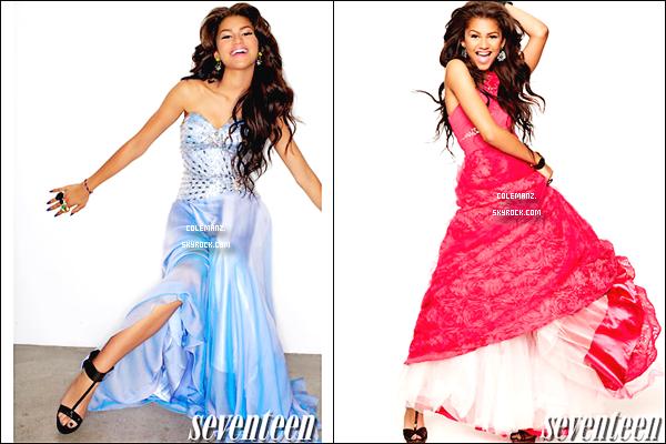 ". Zendaya en couverture de Magazine ""Seventeen."" Tu aimes? ."