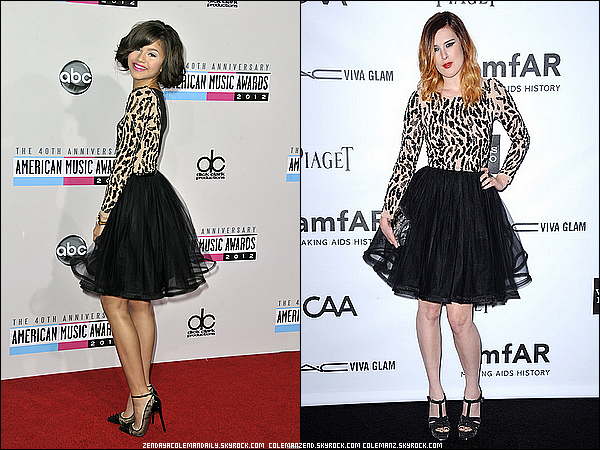 . Mais laquelle porte le mieux cette robe? Vote! Article en collaboration avec ZendayaColemanDaily & ColemanZend .