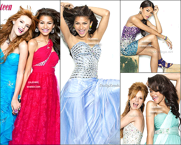 . Découvrez de nouvelles photos de Zendaya & Bella Thorne - photoshoot Seventeen .
