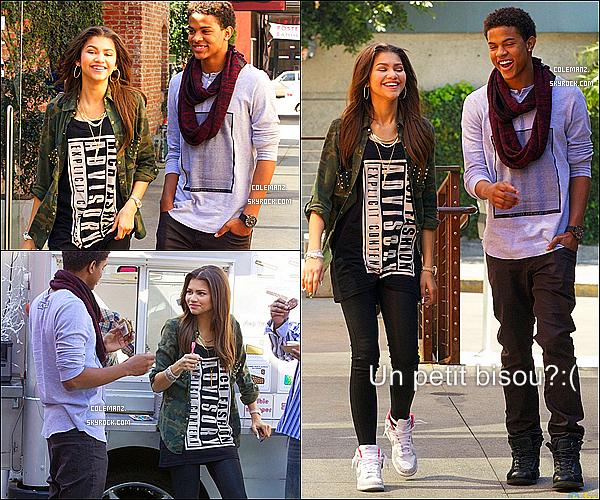. 25/02/2013 : Zendaya & Trevor se baladant dans les rues de Los Angeles. Perso,je l'es trouve trop mignon ensemble,pas vous? .
