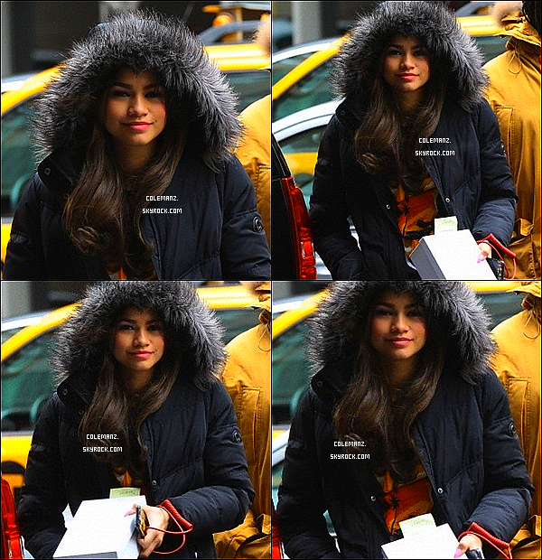 . 14/03/2013 : Zendaya était dans New-York City. .