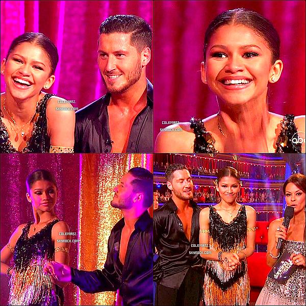 . 22/04/2013 : Découvrez notre belle Zendaya sur le plateau de Dancing With The Stars ! .