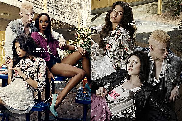 Découvrez un photoshoot de Zendaya datant d'avril 2013 pour « American's Next Top Model ».