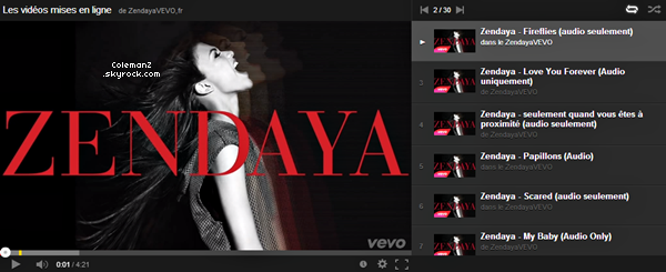 • ECOUTE L'ALBUM DE ZENDAYA SUR YOUTUBE !