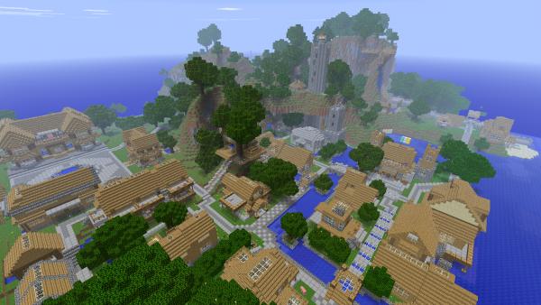 Pour tout geek qui se respecte, le jeu que vous attendiez tous... Minecraft !!!