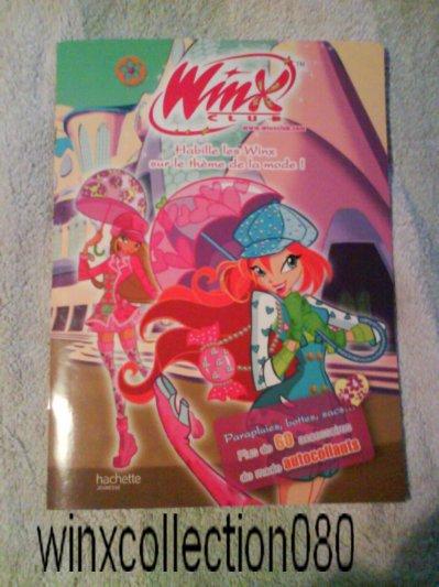 Livre Winx Club Habille Les Winx Sur Le Theme De La Mode